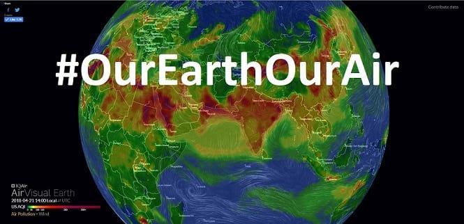 OurEarthOurAir Earth view