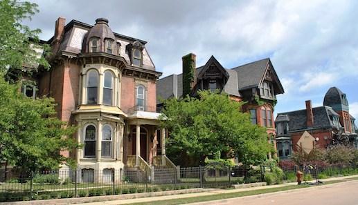 Historic urban homes