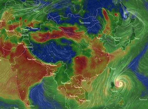 Global PM2.5 map