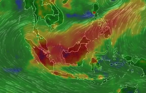 Kuching most polluted as Malaysia haze continues