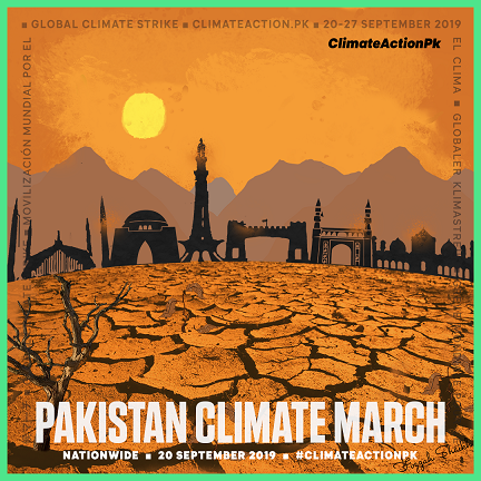 Pakistan air quality activists join Global Climate Strike